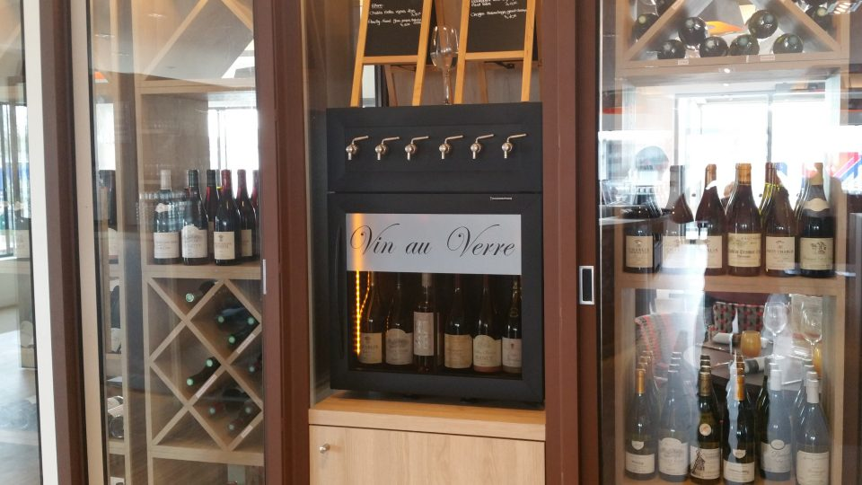 Wine by the Glass Dispenser