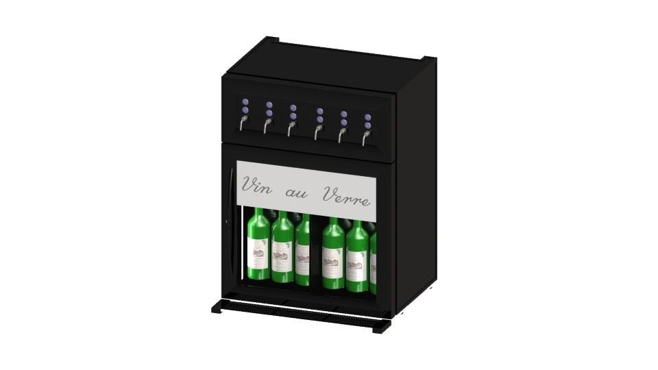 distributeur de vin au verre electronique technowine. Black Bedroom Furniture Sets. Home Design Ideas
